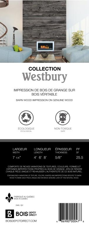 Étiquette Collection Westbury